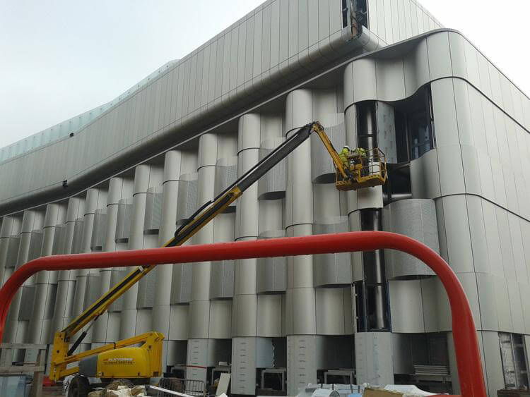 Bristol University Life Sciences Building - Anodising by United Anodisers