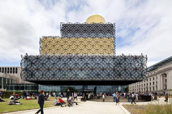 Birmingham Library anodising by United Anodisers